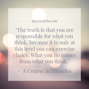 If your business & life was a movie... what would you see?, Mariaestela, Spiritual Business Coach, A Course in Miracles, ACIM